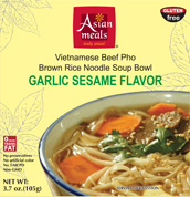 Buy Garlic Sesame Flavor Vietnamese Beef Phô Noodle Bowls