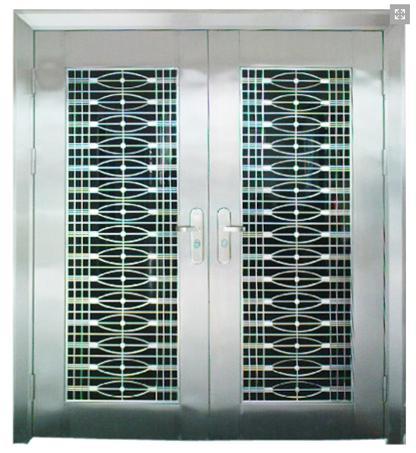 Incroyable Stainless Steel Door In Door Grille