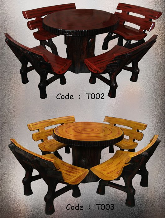 Buy Wood Garden Set