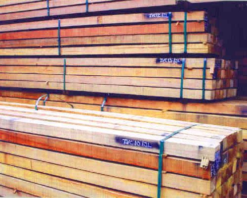 Buy Premium Hardwood Garden Sleepers and Poles