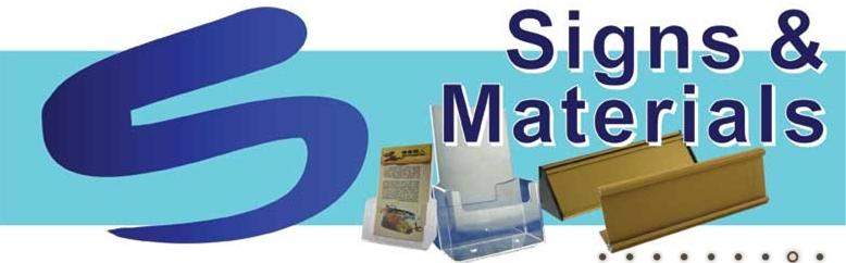 Buy Signage & Material