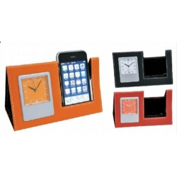 Buy PU Clock Phone Holder