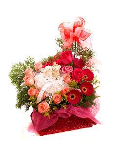 Buy Trinity of Love Bouquet