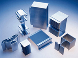 Aluminium extrusion products