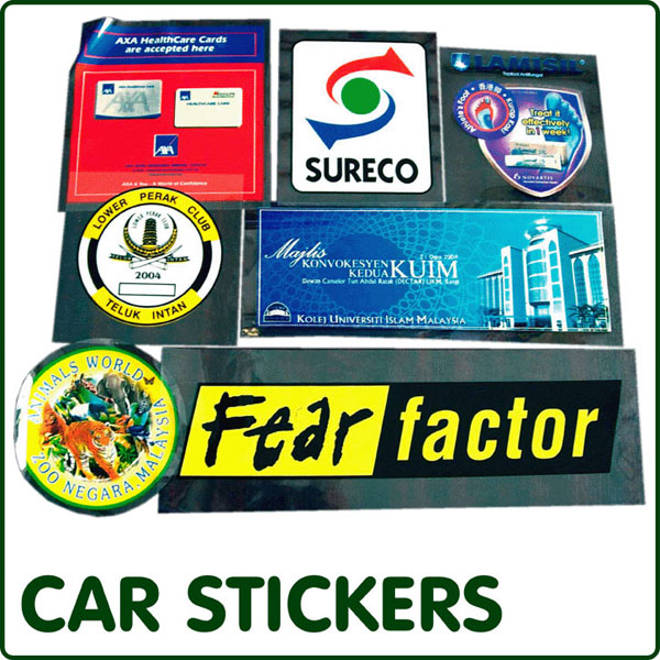 Buy Car Stickers