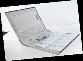 Bantex 11-Hole Business Card Sheet Protector