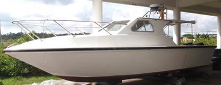 Buy 8.5 m 300HP FRP Speed Boat