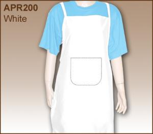 Buy Apron White