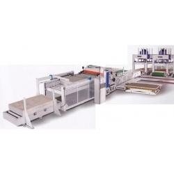 Buy Lamination cold press production line ta410d-100t-3-auto
