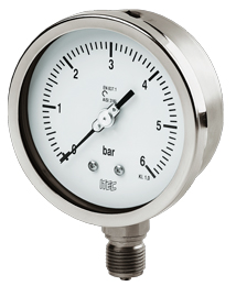 Buy 100/150 P 600, Bourdon tube pressure gauge