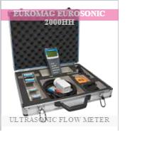 Buy Euromag handheld type ultrasonic clamp on flow meter