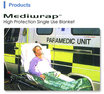 Buy Mediwrap® High Protection Single Use Blanket