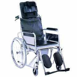 Buy Reclining commode wheelchair