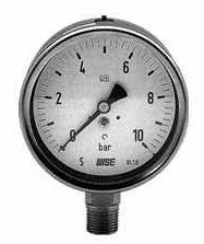 Buy Fully stainless steel pressure gauge bayonet type