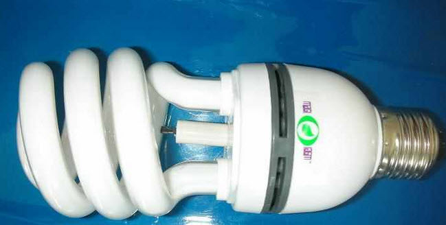 Ionizer air-cleaning lamps