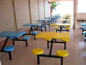 Buy Seater table & chair frp 4