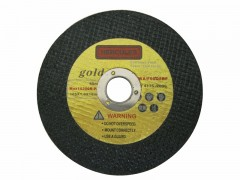Buy Gold cutting wheel 4""