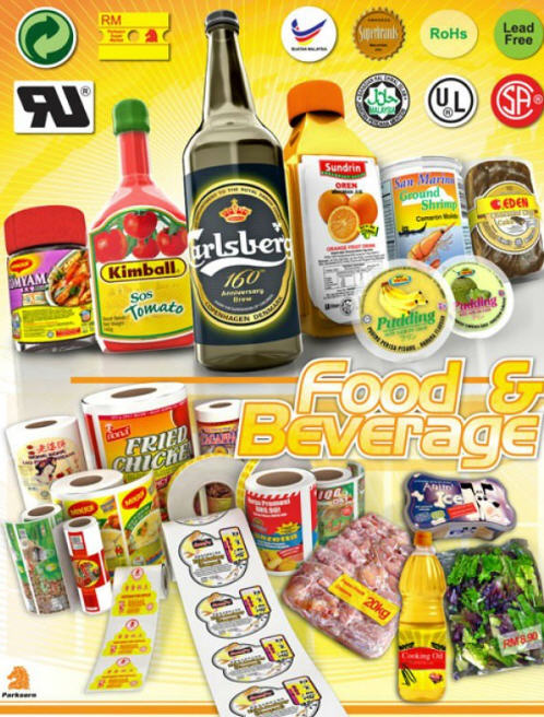 Buy Food & Beverage Labels