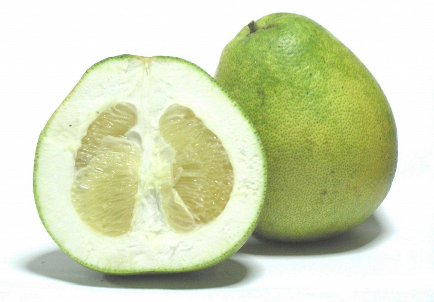 Exotic Fruits Pamelo (Citrus Grandis)