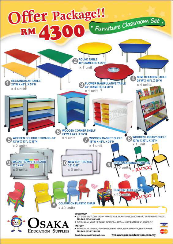 Buy Supplies-offer packages (Osaka Educational )