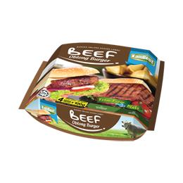 Buy Frozen Foods Burger Oblong Daging Lembu