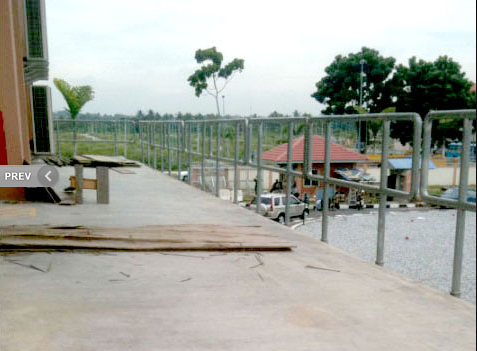 Buy Handrails made of stainless steel