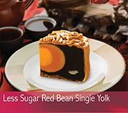 Buy Cakes Moon Less Sugar Red Bean Single Yolk