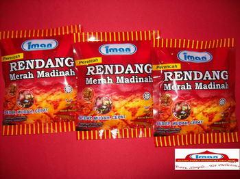 "Buy Food flavors ""Perencah Rendang Merah Madinah"" (Madinah Red Rendang Spice)"