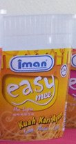 "Buy Noodles of instant cooking ""Easy Mee"" - Kuah Kari Ayam (Chicken Curry Flavour)"