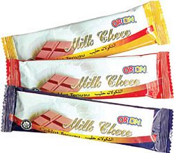 Buy Bar chocolate 15gm Orion Milk Choco Bar