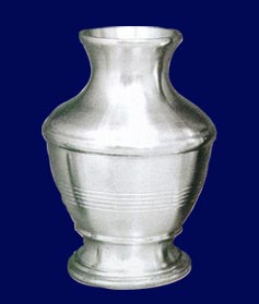 Buy Plain vase pewter
