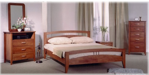 Buy Home furniture bed set Anova