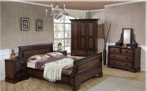Buy Home furniture bedset buckhingham