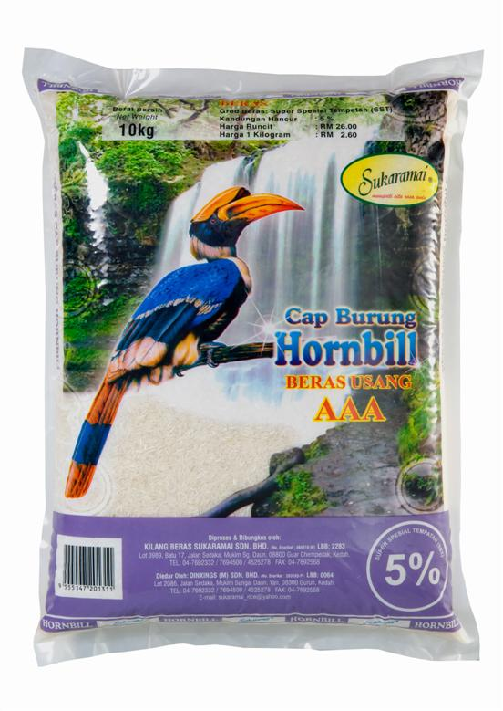 Buy Local rice Hornbill Waterfall