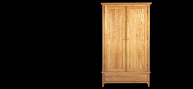 Buy Aston 2 Door Wardrobe