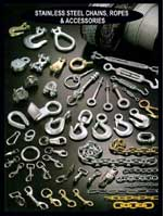 Buy STAINLESS STEEL CHAINS, ROPES & ACCESSORIES,ALLOY CHAIN & COMPONENTS, SHACKLES, TERMINATIONS