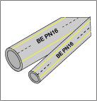 Buy Polypropylene pipes (PN 16), 4m
