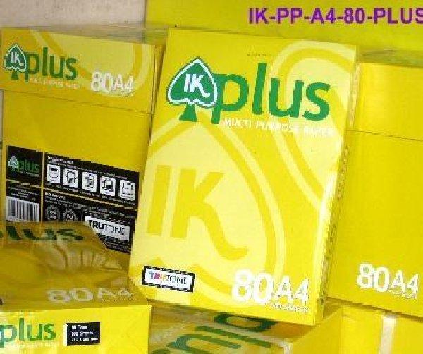 Buy A4 80GSM,75GSM,70GSM IK Plus A4 Paper