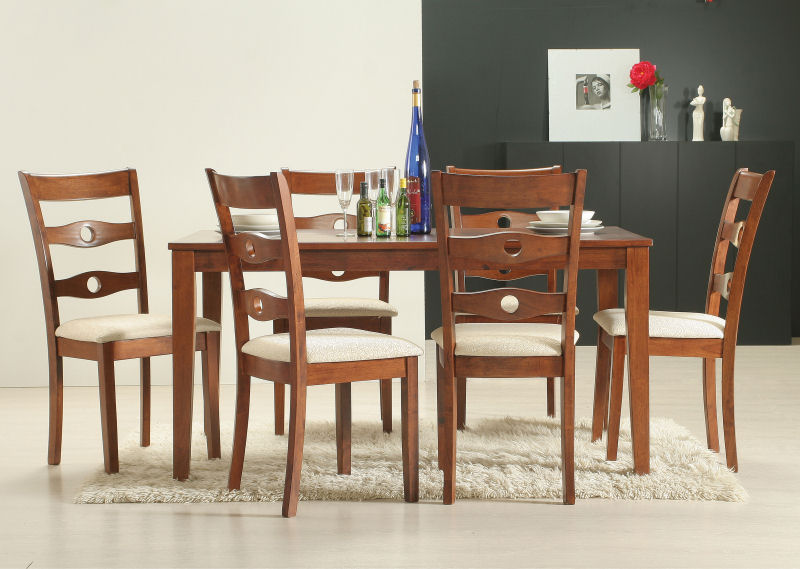 Buy Tables for dining room SENEGAL 7PC SET