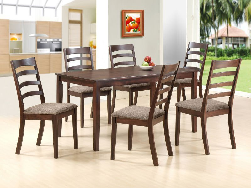 Buy Tables for dining room VERTIGO 7PC SET