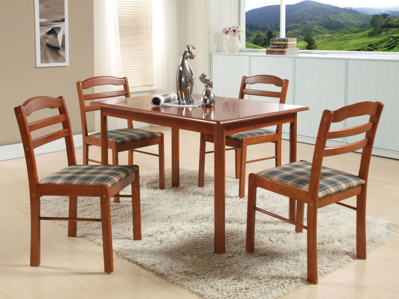Buy Tables for dining room CAMEL BACK 5PC SET
