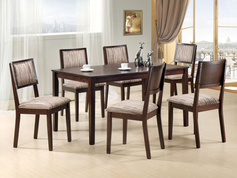 Buy Tables for dining room CURTIS 7PC SET