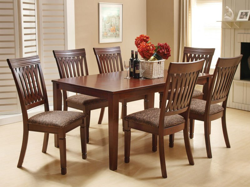 Buy Tables for dining room GILMER 7PC SET