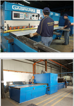 Buy • Gasparini CNC Hydraulic Guillotine Shear Machine (Model: CO-3004) • Hatco CNC Hydraulic Shear Machine (Model: HSLX 3006-8) • De-coiler (3 tonne x 1219 mm) • Csocomc 275 Tube Cutting Machine