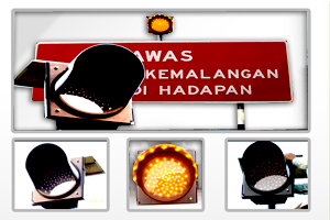 Buy Solar amber light