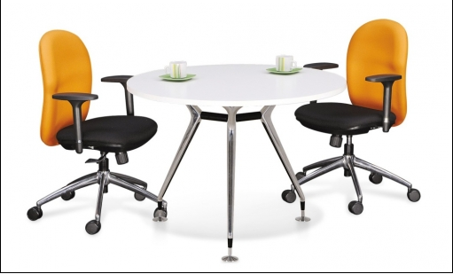 Buy Office furniture Round Meeting Table with Abies Leg