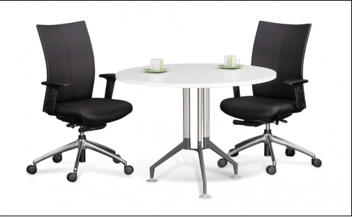 Buy Office furniture Round Meeting Table with Vitis Leg