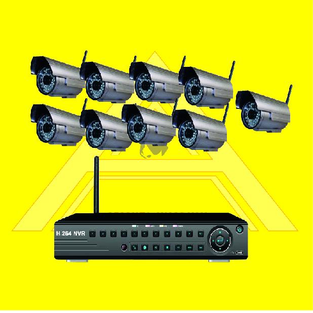 Buy Wireless Surveillance System 9CH