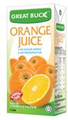 Buy Fruit juices Orange (Great Buck)