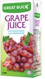 Buy Fruit Juices Grape (Great Buck)